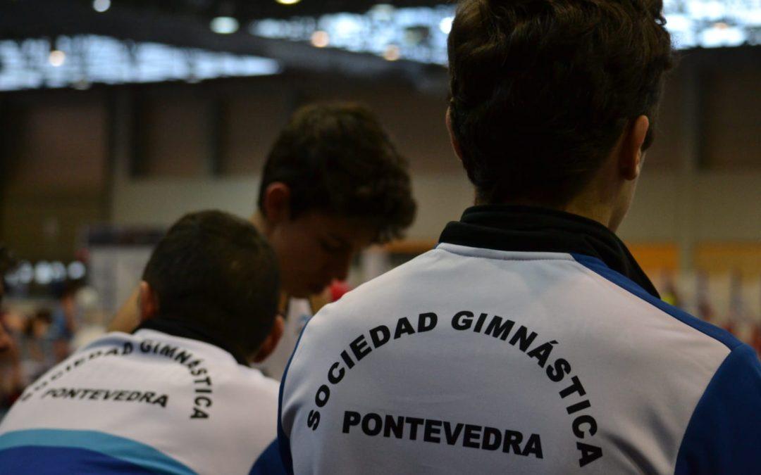 Los atletas de la Gimnástica consiguen un total de 25 medallas en los Campeonatos Gallegos de este fin de semana