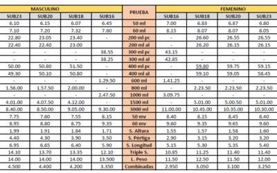 Publicadas las mínimas para los Campeonatos de España de PC