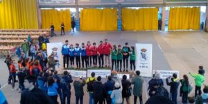 Pódium relevo mixto Campeonato Gallego de Croos