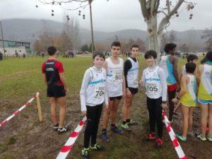 Equipo sub16 masculino Campeonato Gallego de Cross