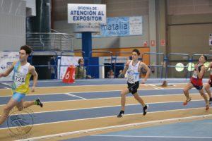 Pablo Boleas en los 400ml.