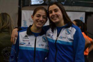 Andrea Villaverde y Clara Rivas.