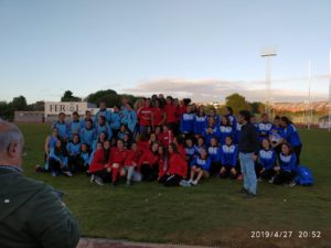 Equipo femenino Copa Gallega de Clubs