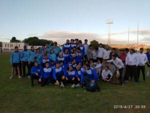 Equipo masculino de la Copa Gallega de Clubs