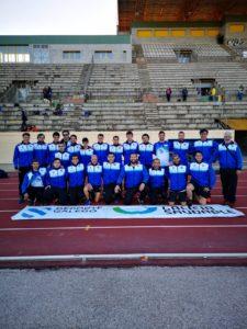 equipo masculino de liga de atletismo
