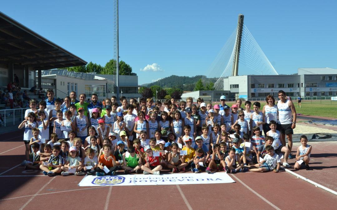 El Concello de Pontevedra y la Sociedad Gimnástica de Pontevedra celebran el festival de las Escuelas Municipales