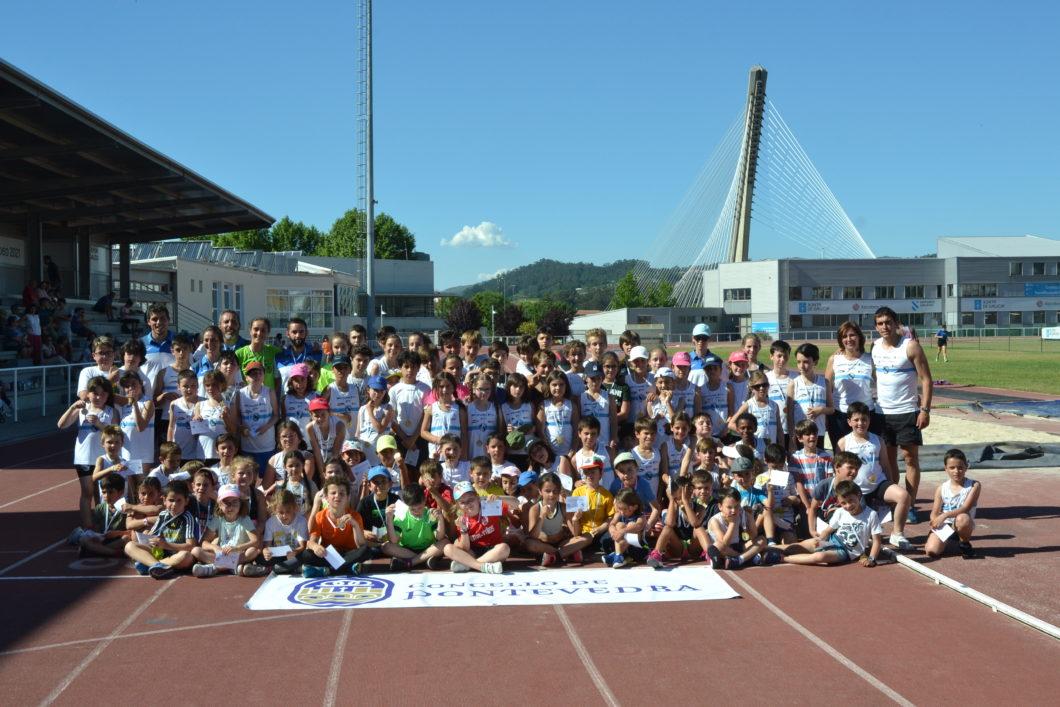 escuelas municipales de atletismo pontevedra