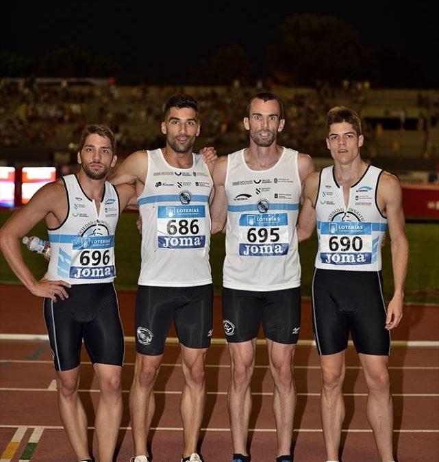 El relevo 4×400 es bronce en el Campeonato de España Absoluto