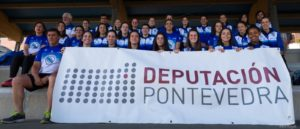 equipo femenino de la sociedad gimnástica de pontevedra de la liga iberdrola de atletismo