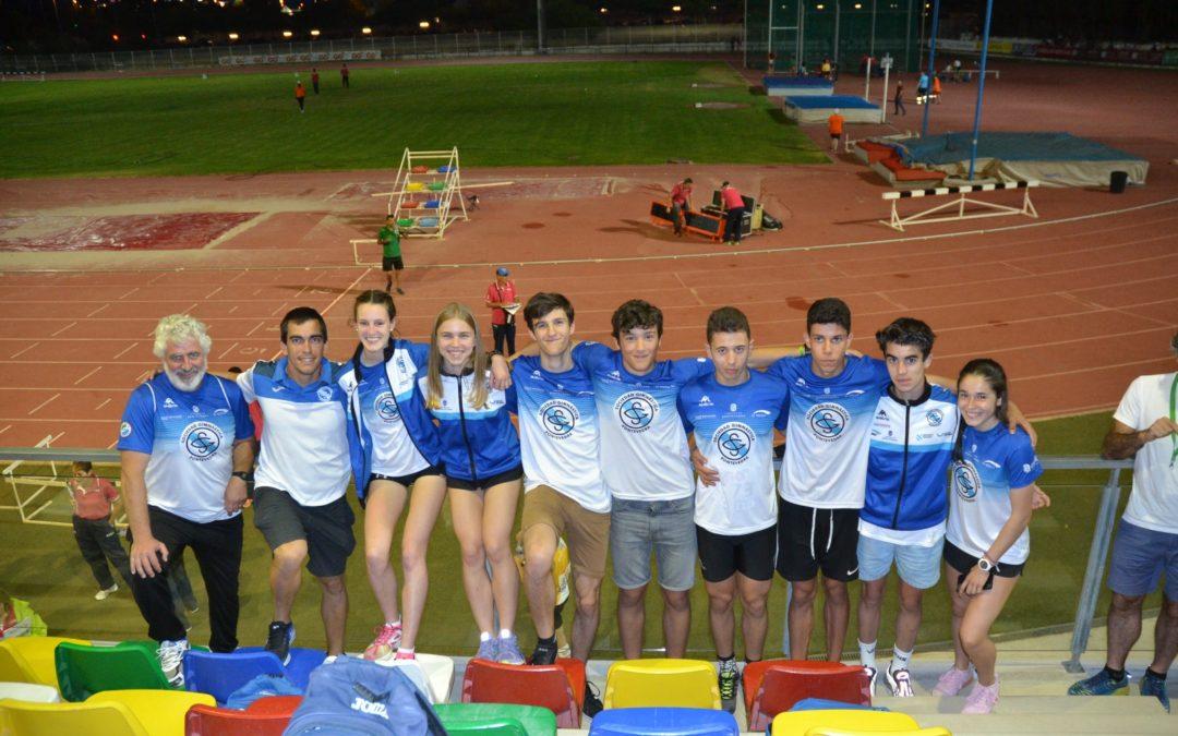 Buen balance para los atletas de la Sociedad Gimnástica de Pontevedra en el Campeonato de España sub18.