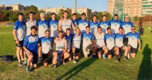 Componentes del equipo masculino que disputó la Tercera Jornada de Liga