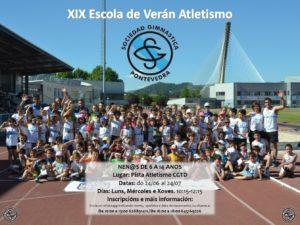 Escuelas de verano de la Sociedad Gimnástica de Pontevedra 2019