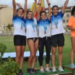 Los atletas de la Sociedad Gimnástica cosecharon 26 medallas en el Campeonato Gallego Absoluto