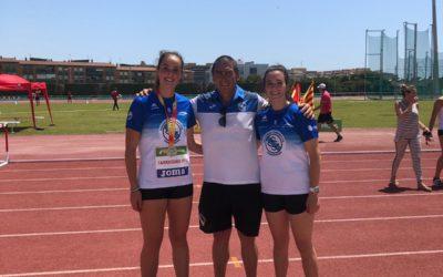 Andrea González brilla en un Campeonato con resultados muy positivos para los atletas de la Sociedad Gimnástica de Pontevedra
