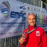 Manuel 'Huracán' Hurtado segundo en el Campeonato de Europa Máster