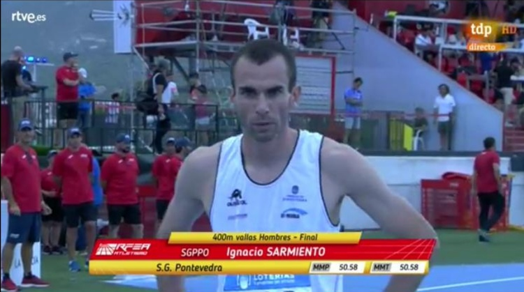 Bronce para Ignacio Sarmiento en el Campeonato de España Absoluto