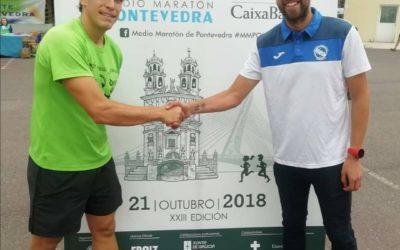 La Sociedad Gimnástica de Pontevedra ya tiene todo en marcha para el Medio Maratón de Pontevedra