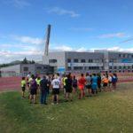 Los atletas de la Sociedad Gimnástica de Pontevedra han empezado la pretemporada 2019/2020