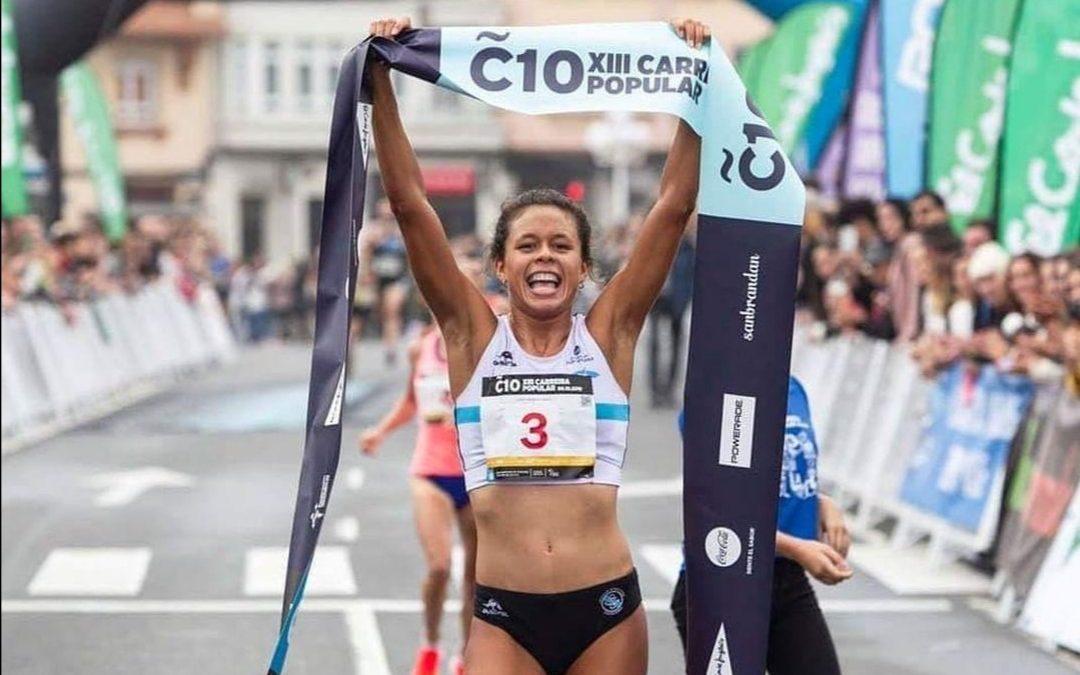 Joselyn Brea bate el récord de Venezuela en los 10km