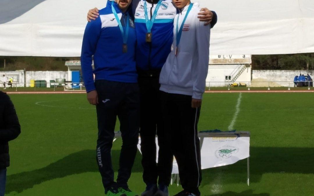 Daniel Chamosa brilla en el Campeonato Gallego de Marcha en pista