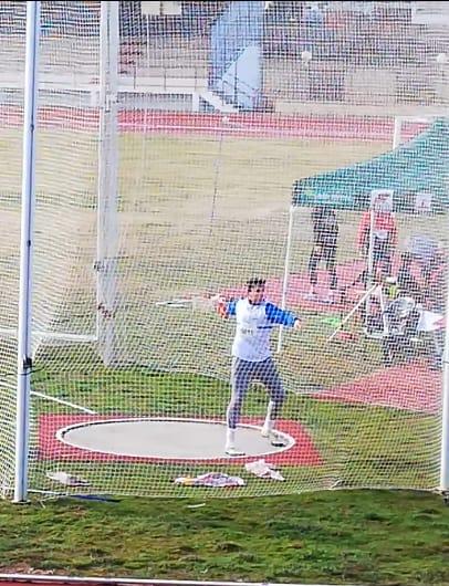 Diego Casas hace un lanzamiento de récord