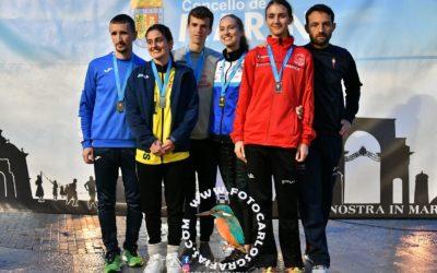 Antía Chamosa lidera un campeonato gallego con cuatro medallas Gimnásticas