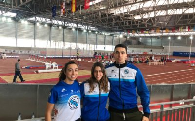 Diego Casas, Antía Chamosa y Andrea González tienen opciones de pódium