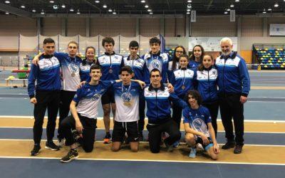 34 atletas de la Sociedad Gimnástica de Pontevedra se dan cita en el primer Campeonato Gallego de la era post cuarentena