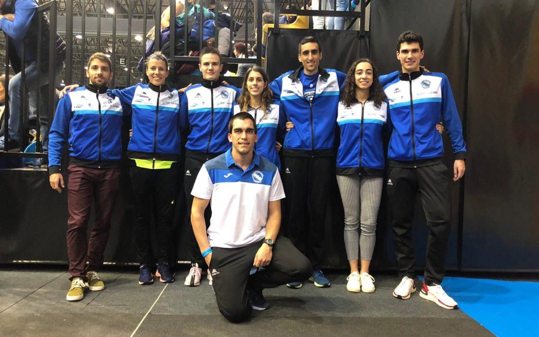 Nuestros atletas lo dieron todo en la pista de Ourense