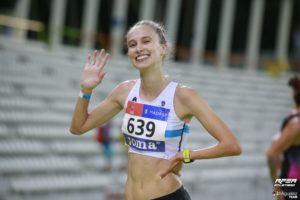 Antía Chamosa, Campeona de España en 10000m marcha | Foto: Miguelez Team
