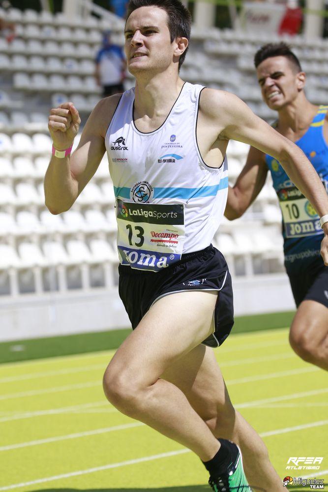 David de la Fuente, campeón en los 800ml | Foto: Miguelez Team