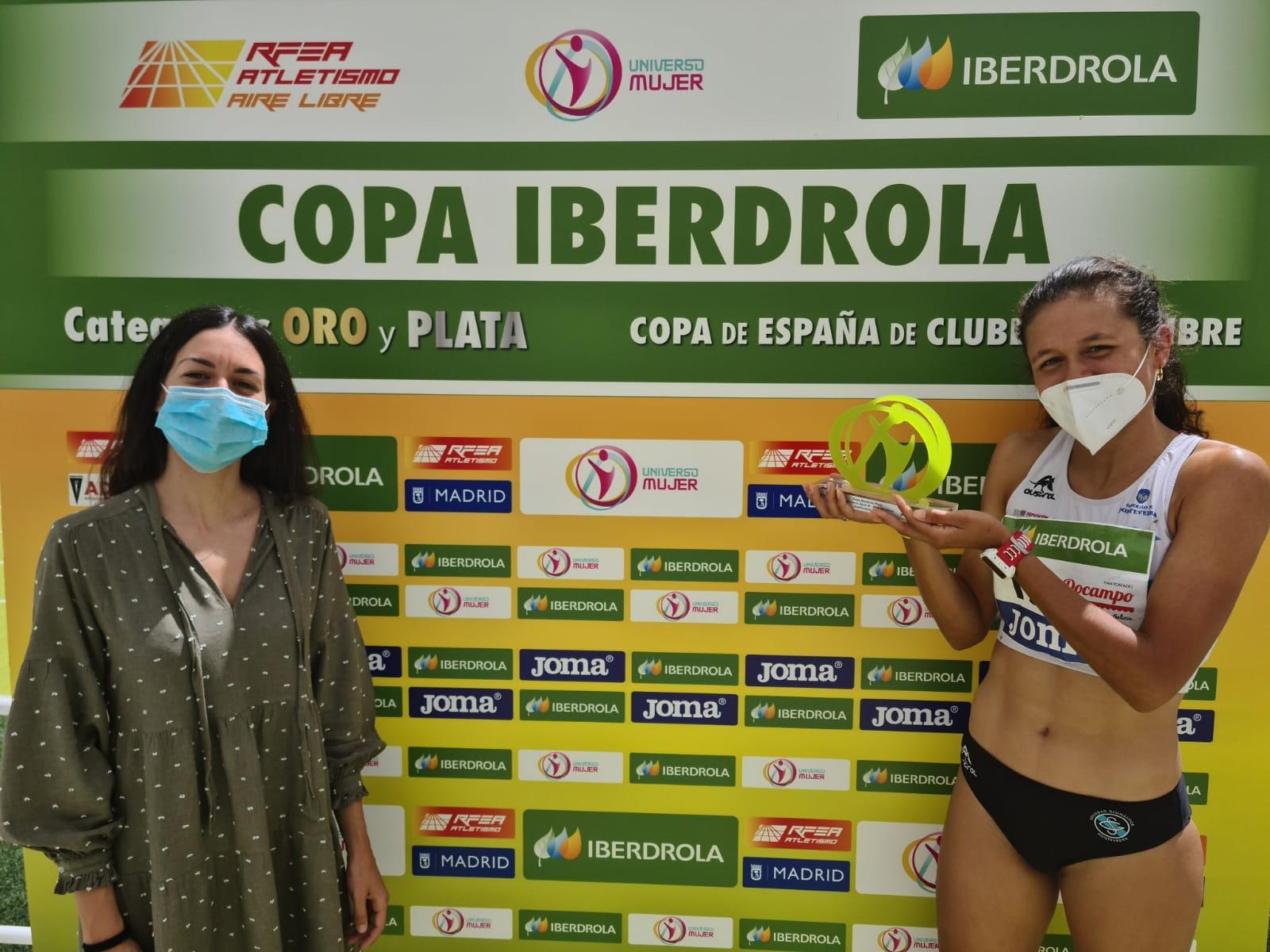 Joselyn Brea, premio Iberdrola a mejor marca del encuentro