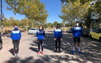 Dos puestos de finalistas para los atletas de la Sociedad Gimnástica de Pontevedra