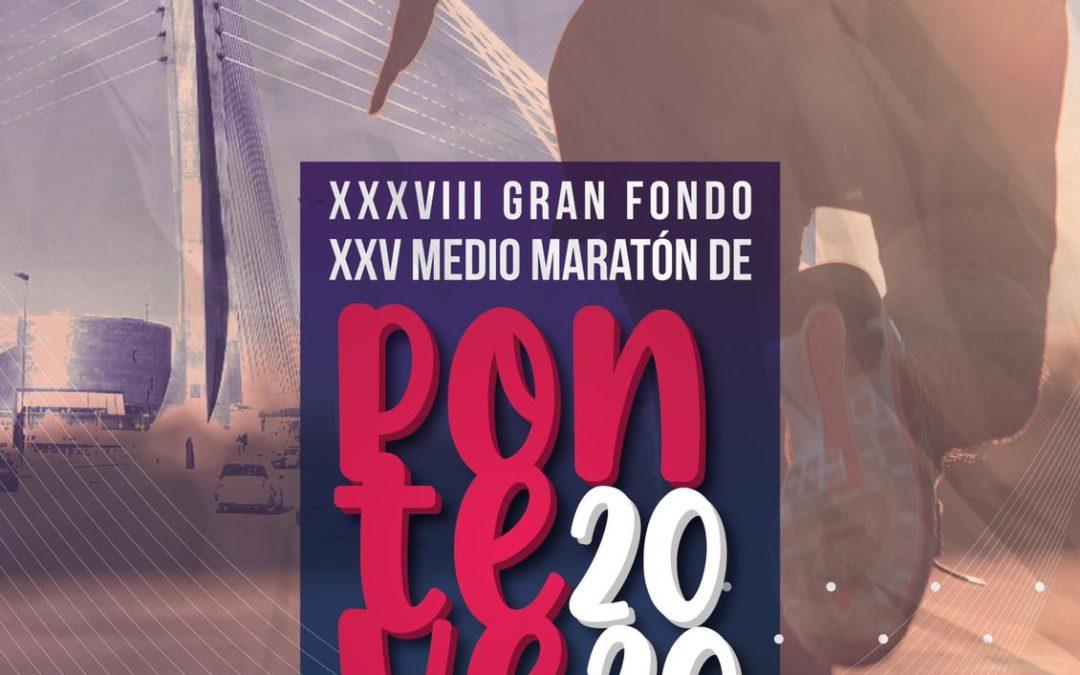Todo listo para el pistoletazo de salida del Medio Maratón de Pontevedra 2020