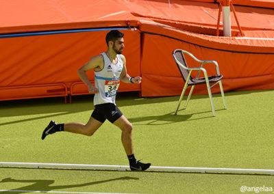 Alberto Pérez en el Campeonato de España sub20 | Foto: Ángela F. Sobral