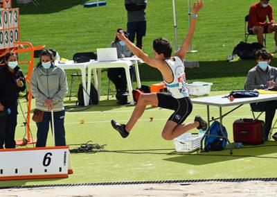 Raúl Cortizo en el Campeonato de España sub20 | Foto: Ángela F. Sobral