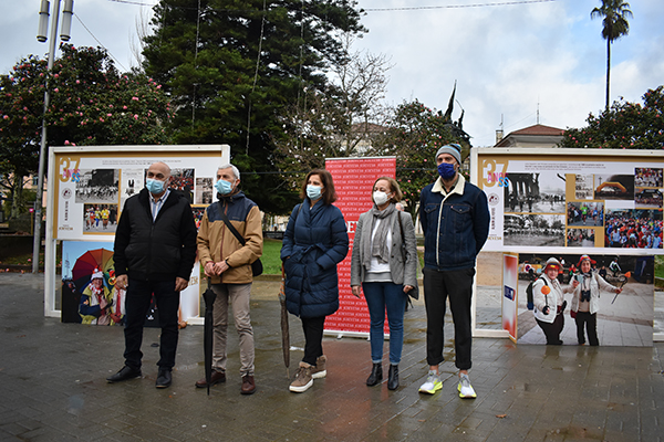 A historia da San Silvestre percorre as rúas de Pontevedra