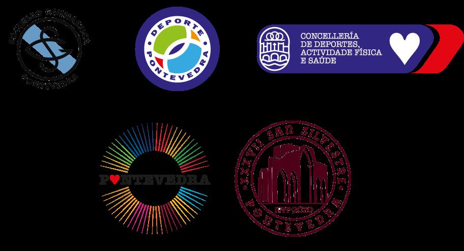 Logotipos colabora y patrocina san silvestre 2020