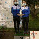 Las combineras de la Sociedad Gimnástica de Pontevedra consiguen una medalla de bronce