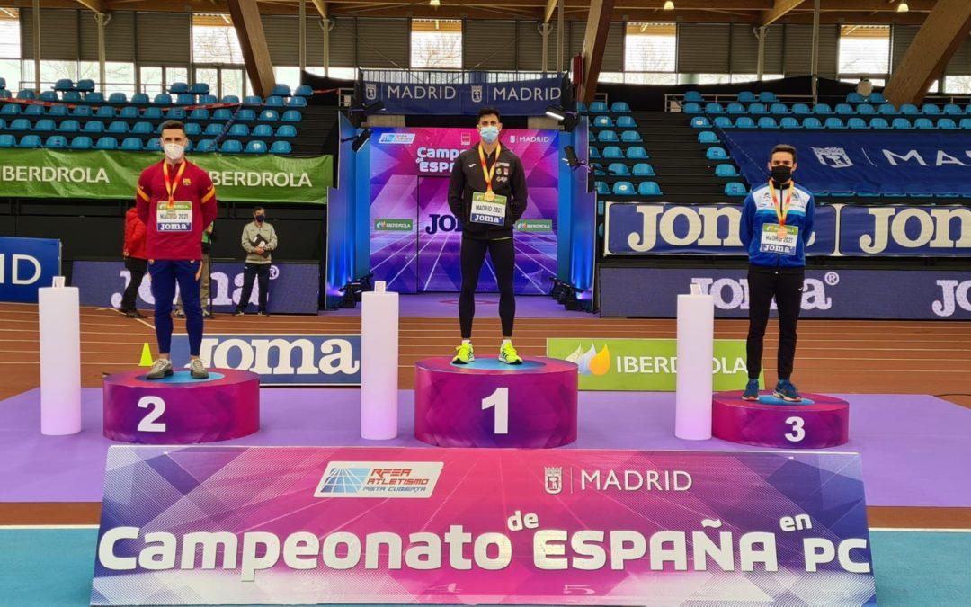 Oriol Madi, tercero de España en el Campeonato de España Absoluto