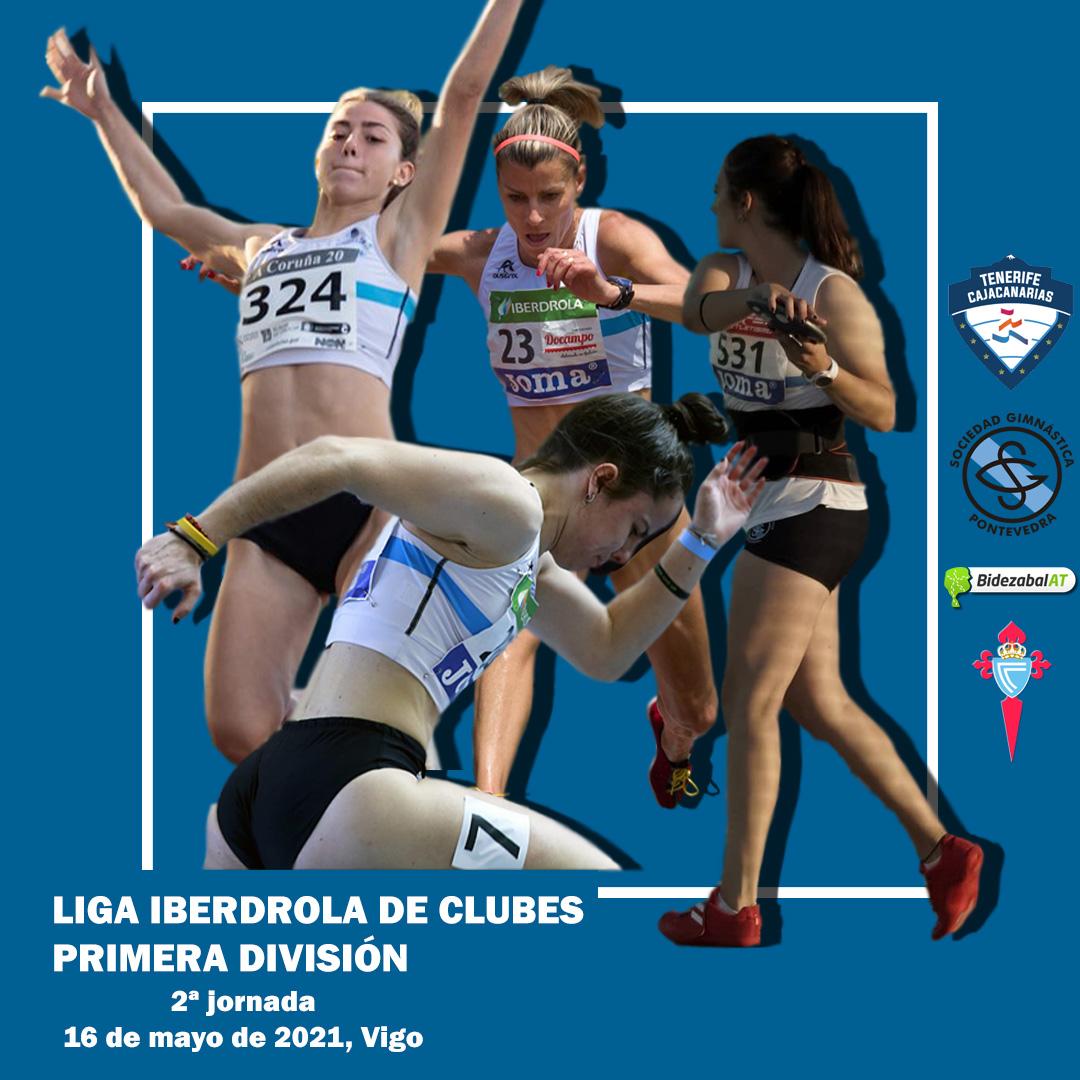 Equipo femenino Sociedad Gimnástica de Pontevedra
