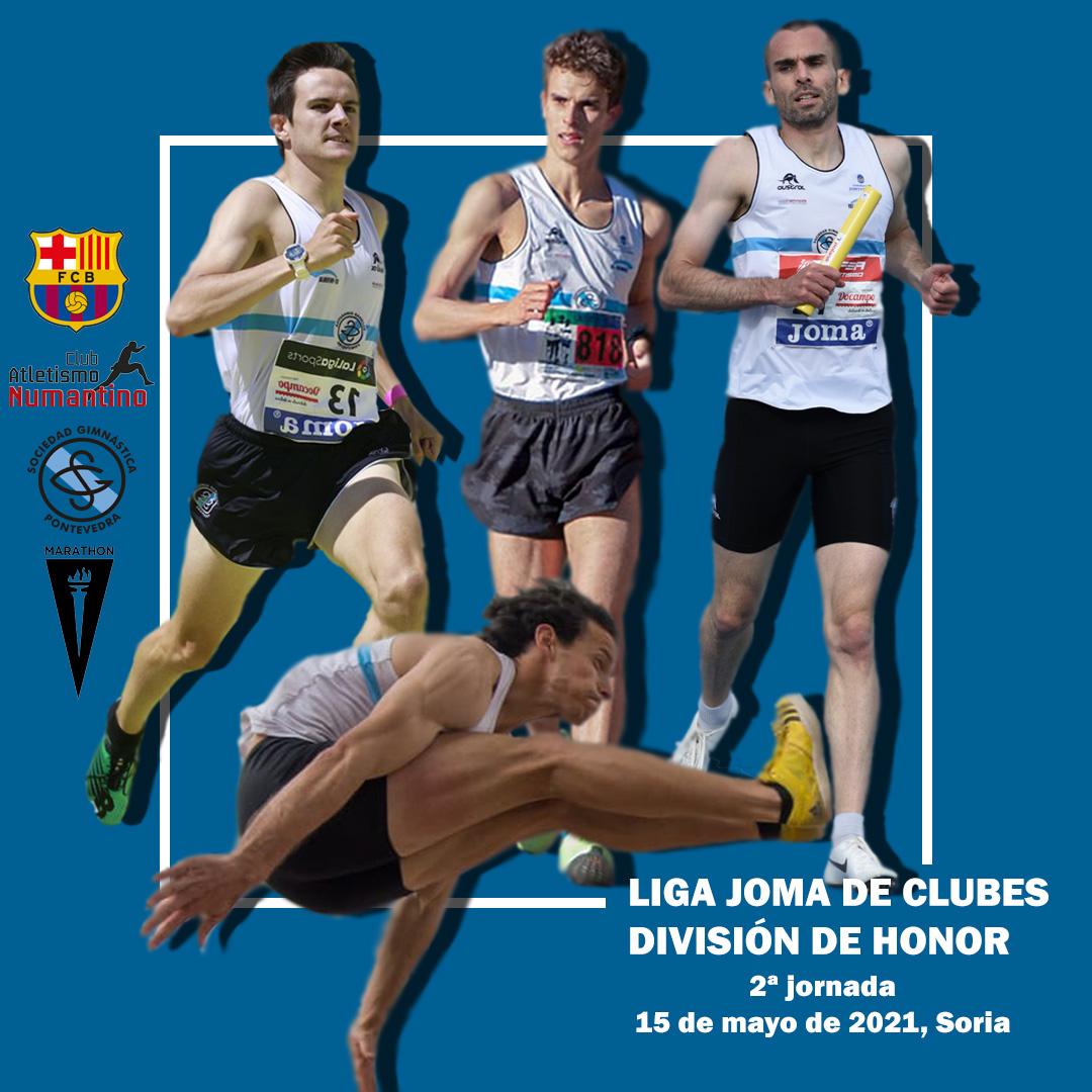 Equipo masculino Sociedad Gimnástica de Pontevedra
