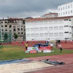 Ocho medallas en el Campeonato Gallego sub20
