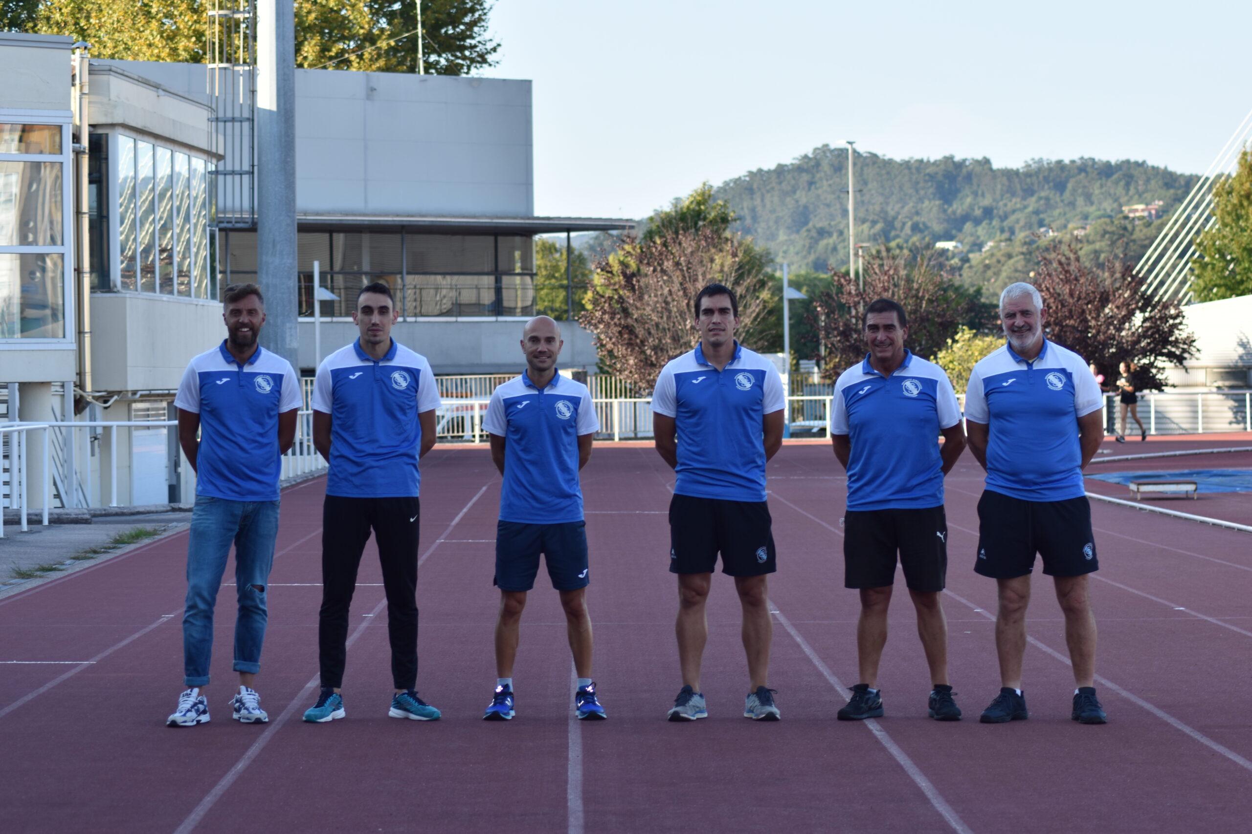 Entrenadores de la Sociedad Gimnástica de Pontevedra